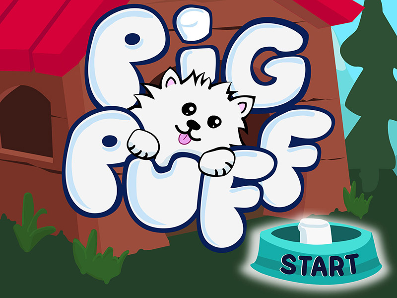 Pig Puff Splash Screen